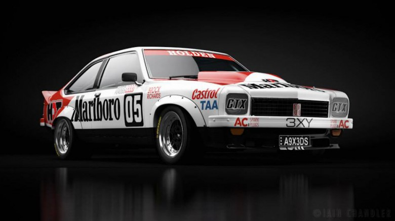 Photo Gallery: Art on Wheels – Heritage Touring Cars
