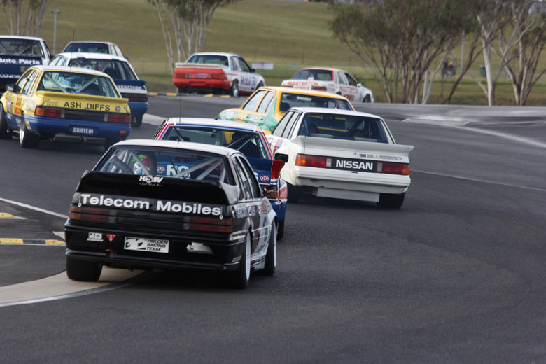Heritage Touring Cars Join V8 Supercars in Sydney