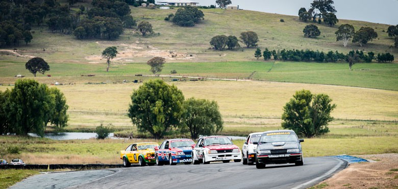 Heritage Touring Cars at the HSRCA's Historic Summer by Seth Reinhardt