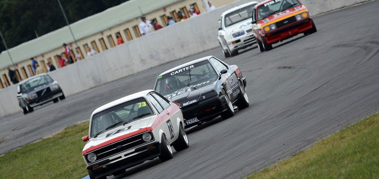Heritage Touring Cars at the HSRCA's Historic Summer by Brent Murray