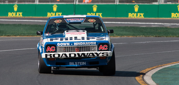 Heritage Touring Cars On Display At Bathurst