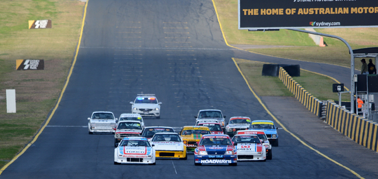 Heritage Touring Cars at the 2015 Muscle Car Masters by Brent Murray