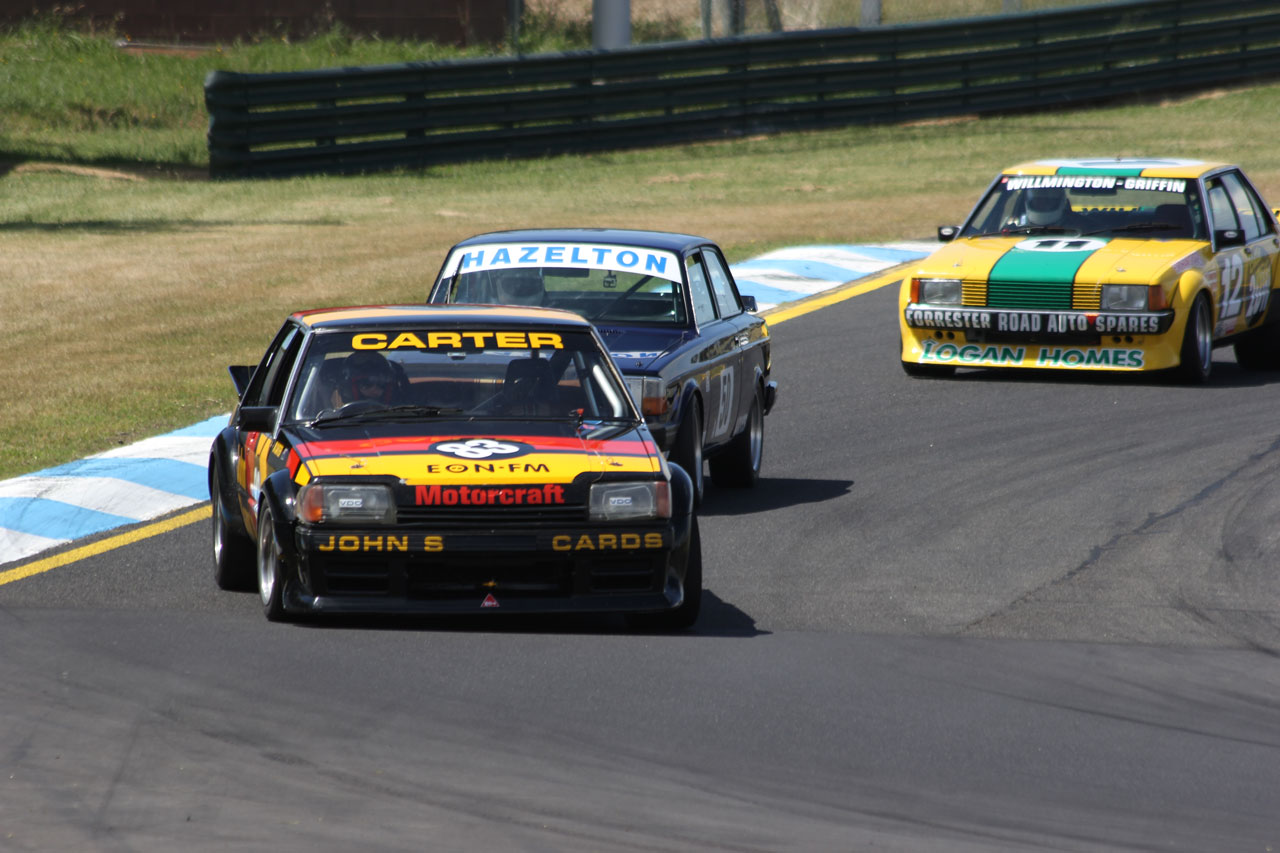 Heritage Touring Cars at Historic Sandown
