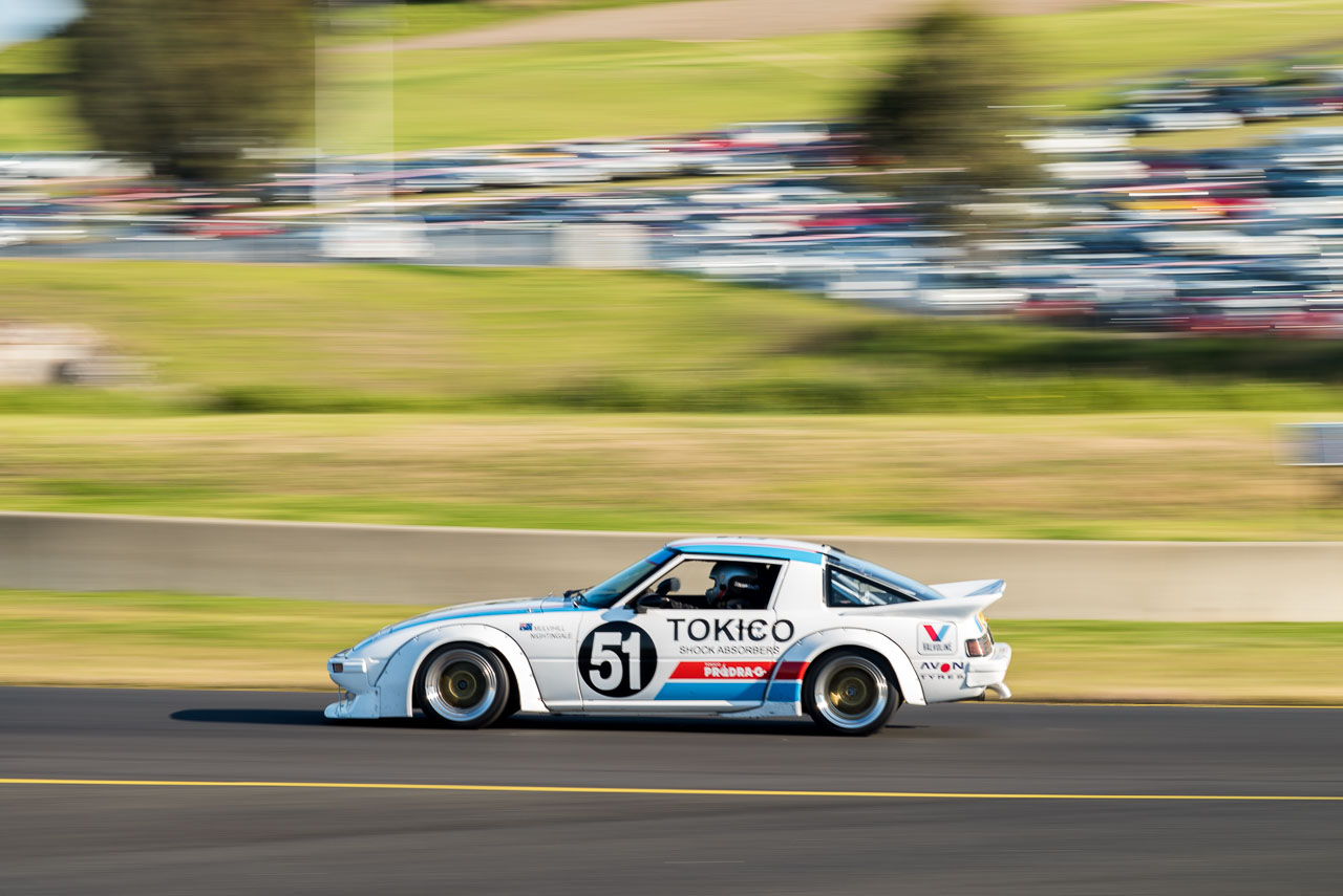 Chris Bowden RX7 Heritage Touring Cars