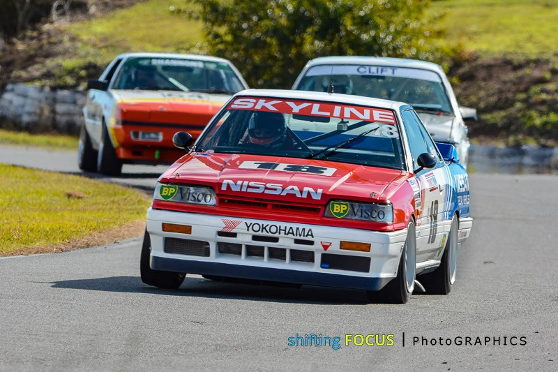 Carey McMahon Heritage Touring Cars Group A Champion