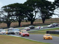 Heritage Touring Cars at the 2016 Phillip Island Classic by Brent Murray and Tom Vondrasek