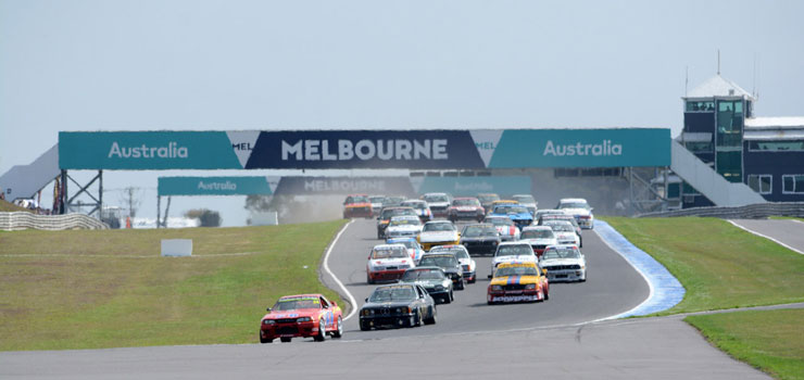 Heritage Touring Cars at 2016 Phillip Island Classic