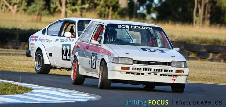 Heritage Touring Cars Chasing Records in Queensland