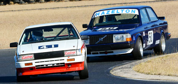 Strong Entries Confirmed for Heritage Touring Cars 2016 Series Round 2 at Morgan Park