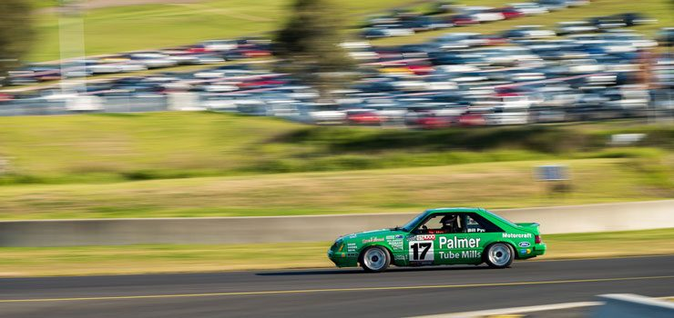 Ex-Dick Johnson Greens'-Tuf Mustang Returns to the Track for Sydney Retro Racefest