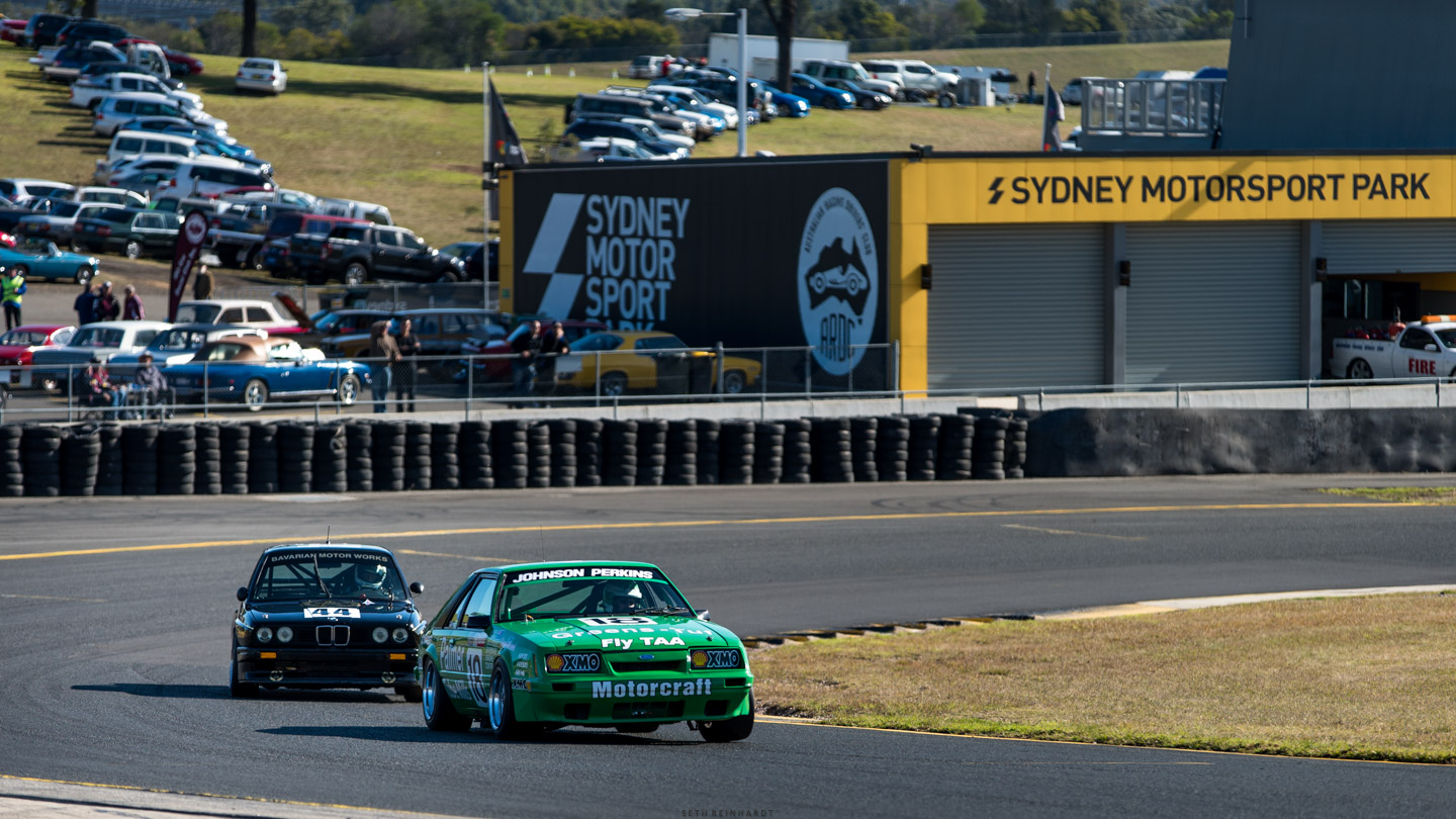 Terry Lawlor and David Towe Lawlor and David Towe Sydney Retro Racefest 2016