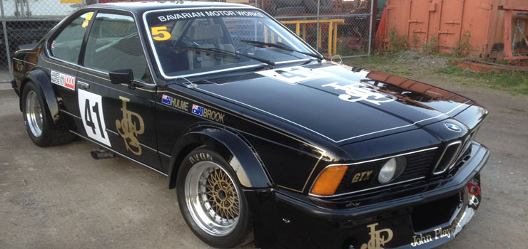Ex-Grice/Richards JPS Team BMW 635CSi Roars to Life in 2017 Heritage Touring Cars Series