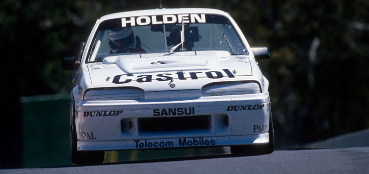 Friday Feature: Norm Mogg and the HRT Commodore VL at Sandown