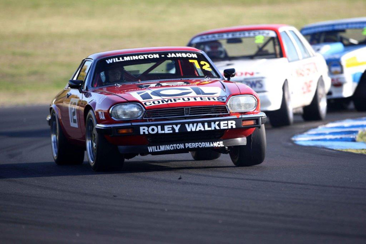 Tony Pallas ex-Garry Willmington Jaguar XJ-S