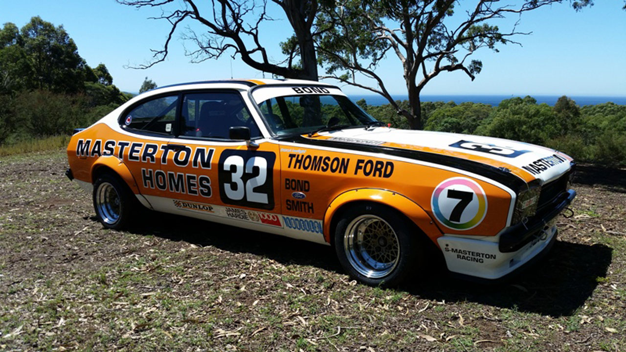 Ex-Colin Bond Masterton Homes Ford Capri Mk.2