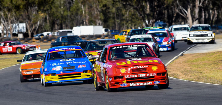 Wrapping Up a Massive Weekend at Morgan Park for 2018's Historic Queensland