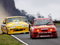Heritage Touring Cars Debut at Baskerville Raceway with an Exciting Baskerville Historics Weekend