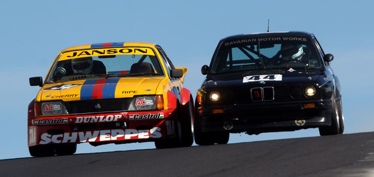 Wrapping Up Round 2 of the 2019 Heritage Touring Cars Series at the Hi-Tec Oils Bathurst 6-Hour