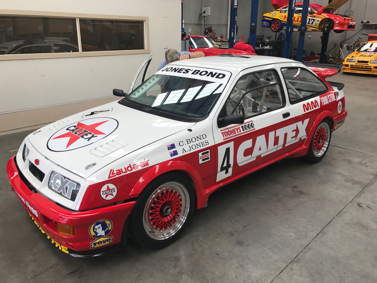 Colin Bond 1988 Caltex Sierra RS500