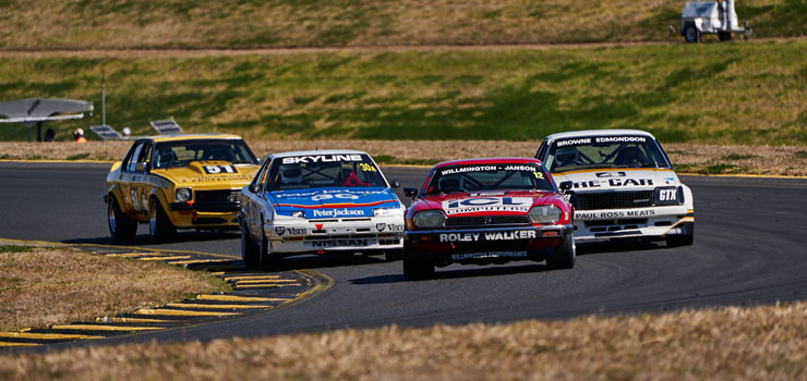 Heritage Touring Cars to Visit Five States in 2020 Calendar