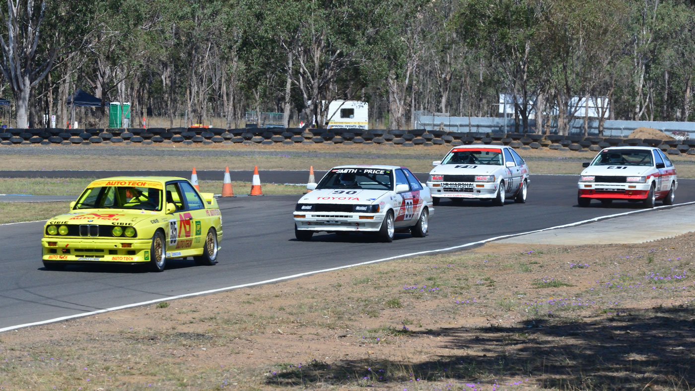 Heritage Touring Cars Historic Warwick